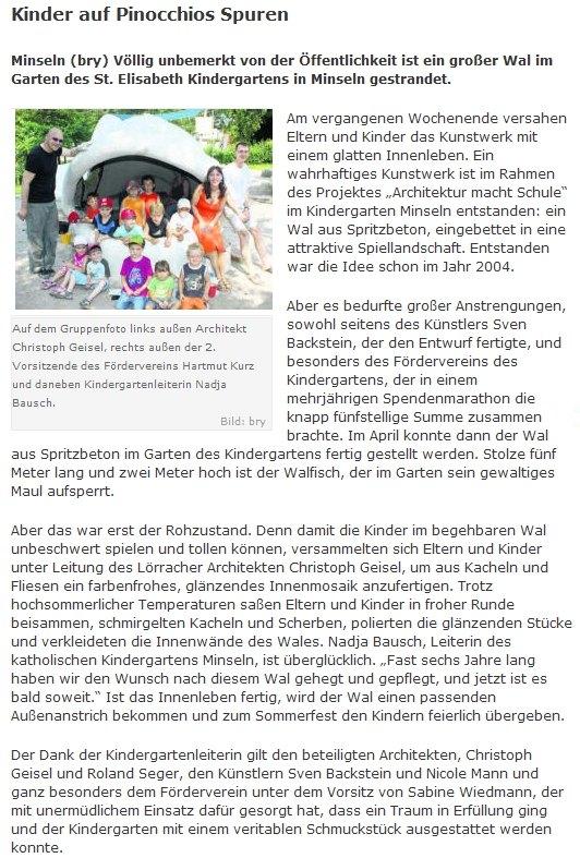 Suedkurier vom 7. Juli 2010