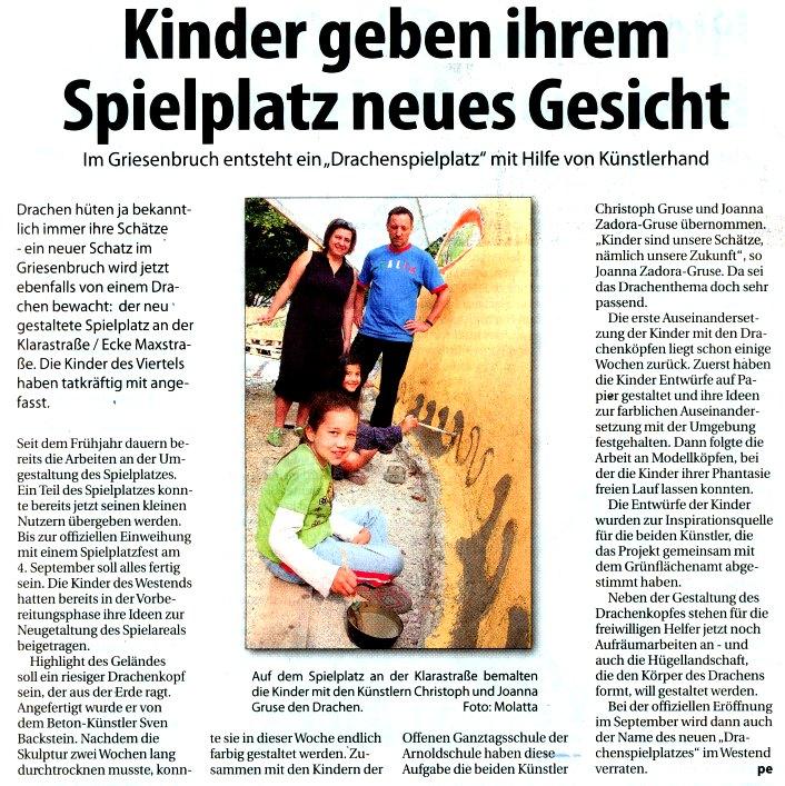 Stadtspiegel Bochum vom 4. Aug 2010