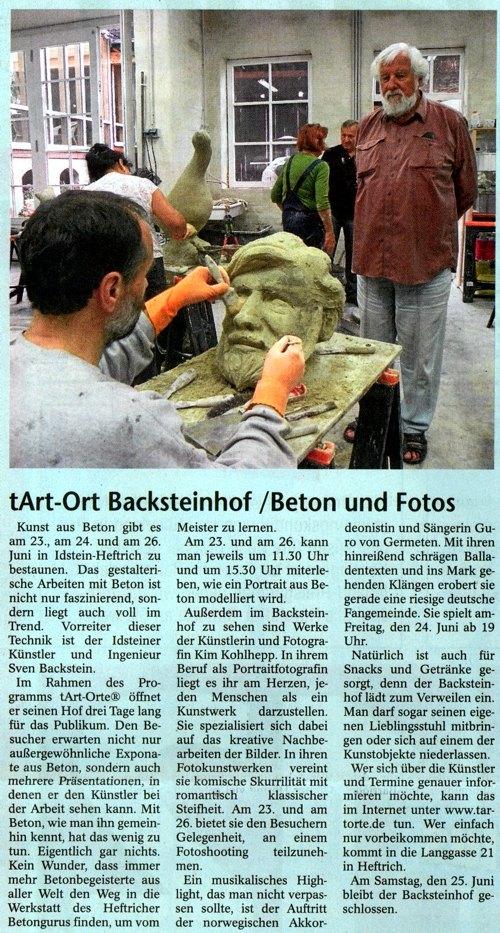 Idsteiner Anzeiger vom 16. Juni 2011