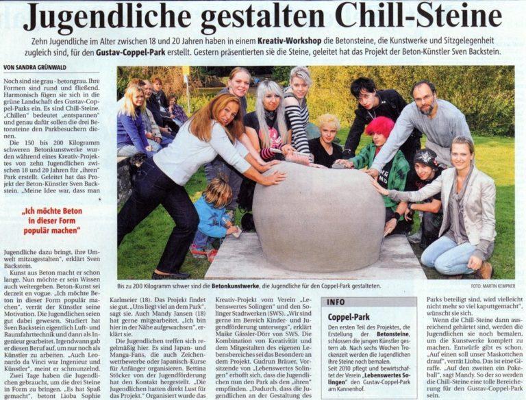 Solinger Morgenpost vom 1. September 2011