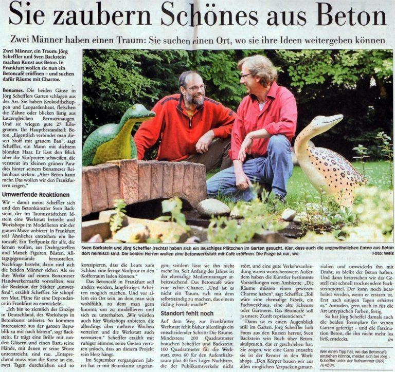 Frankfurter Neue Presse vom 28. Juli 2011